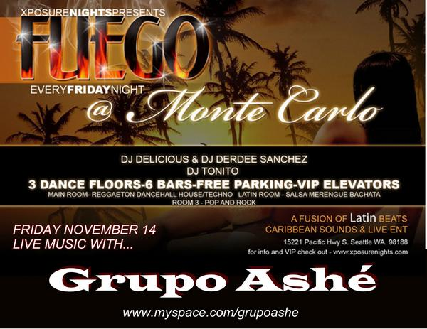 Grupo Ashe at Monte Carlo Nov 14