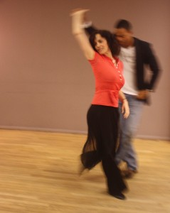 Dancing with Lazaro