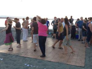 2017 Alki beach dancing