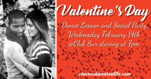 Valentine's Day 2018 Social and Lesson at Club Sur